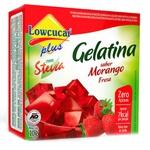 Gelatina Morango Com Stevia 10g