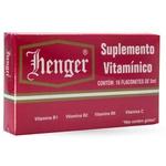 Henger Suplemento Vitamínico16 Flaconetes X 5ml