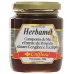 Herbamel Mel, Gengibre, Própolis e Eucalipto 290g