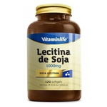 Lecitina de Soja 120caps x 1000mg