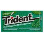 Trident Menta Verde Display 21 unidades