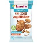 Mini Cookies Amêndoas e Castanhas Zero Açúcar Display 12x35g