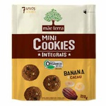 Mini Cookies Integrais Orgânicos Banana e Cacau 120g