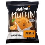 Muffin Believe Laranja com Gotas de Chocolate Display 10x40g