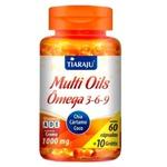 Multi Oils Ômega 3-6-9 Chia, Cártamo e Coco 60 caps x 1000mg