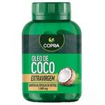 Óleo de Coco Extra Virgem 60 capsulas softgel x 1000mg