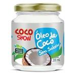 Óleo de Coco Sem Sabor Coco Show Veg 200ml