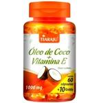 Óleo de Coco + Vitamina E 60 caps x 1000mg