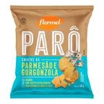 Parô Snacks de Parmesão e Gorgonzola 40g