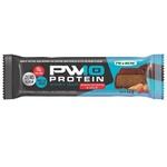 PW10 Protein Whey Bar Zero Açúcar Amendoim Cobertura Chocolate Display 12 x 32g