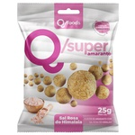QSuper Snack Amaranto com Sal do Himalaia Display 6 x 25g