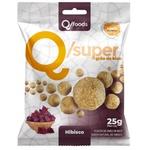 QSuper Snack Grão de Bico com Hibisco Display 6 x 25g