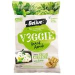 Veggie Snack Belive Cream Cheese com Ervas 35g