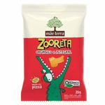 Biscoito Orgânico e Integral Zooreta Sabor Pizza Display 7x20g