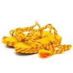 Papete Isis Rasteirinha Amarelo e Laranja