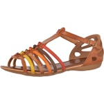 Sandália Rasteira em Couro Whisk Color