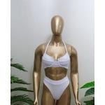 Conjunto Bahamas Com Hot Pants Branco ( Saint Tropez)