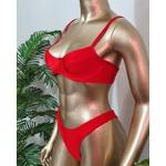 Conjunto Bahamas Vermelho ( Trilobal )