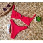 Conjunto Ibiza Drape Vermelho