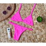 Conjunto Safira Rosa Neon