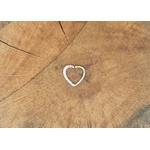 Piercing Prata Coração