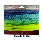 Buff Monster 3x Dourado Do Mar