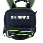 MOCHILA DE PESCA SHIMANO GREEN FISHING BACK PACK XL C/ 4 ESTOJOS - LUG1806