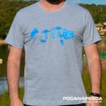 Camiseta Focanapesca Tucuna Azul