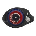 Carretilha Saint Twister DB6000 LH (Esquerda) Rec. 7.2:1 Rol. 5+1 Freio 4,5kg Peso 215g