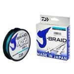LINHA MULTIFILAMENTO DAIWA J-BRAID X4U 270m - Azul