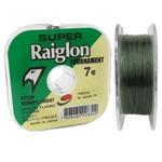 LINHA SUPER RAIGLON VERDE C/ 100M 0,62mm 0,70mm 0,81mm 0,91mm