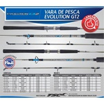 Vara de Carretilha Marine Sports Evolution GT2-C551H (1,65m) 20-60lb