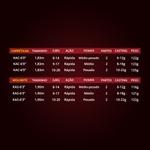 """Haste (Blank) para Vara Maruri By Nakamura Kazan 17lbs 6'3"""" (1,90m) p/ Molinete"""