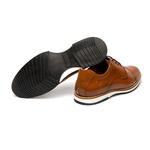 Sapato Casual Armand Whisky em Couro