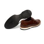 Sapato Casual Richard Marrom em Couro