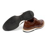 Sapato Casual Bernard Marrom em Couro