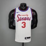 Regata Nba Silk- Philadelphia Seventy Sixers- (jogador) Iverson 3