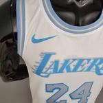 Regata Nba Lakers Silk (jogador) Bryant Camisa 24