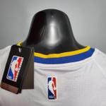Regata Nba Golden State Warriors Silk branca (jogador) Stephen Curry 30