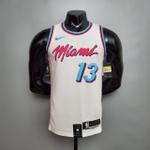 Regata Miami Heat City Silk branca