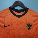 Camisa Seleção Holanda Home 20/21 Torcedor