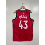 Regata NBA Toronto Raptors 43 vermelha