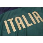 Kit Agasalho Moletom Italia verde meio ziper