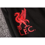 Kit Agasalho Moletom Liverpool meio ziper