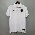 Camisa paris gola Polo Jordan branca 20/21