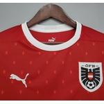 Camisa Seleção Áustria Home 20/21 Torcedor