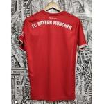 Camisa Bayern de Munique Home 20/21 s/nº Torcedor Adidas - Vermelho e Branco