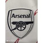 Camisa Arsenal Away 20/21 s/n° Torcedor Masculina - Branco e Preto