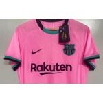 Camisa Barcelona 20/21 Versão Jogador rosa