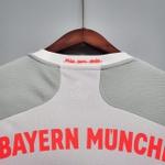Camisa Bayern de Munique Away 20/21 Cinza e Branco Torcedor
